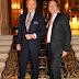 Gino Bogani y Alejandro Veroutis en el Alvear Palace Hotel