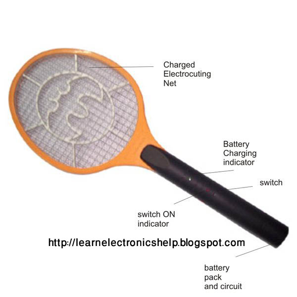 how mosquit swatter works?