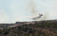 Požar Podhume Milna slike otok Brač Online