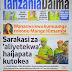 HAYA HAPA MAGAZETI YA LEO ALHAMIS MACHI 22,2018 - NDANI NA NJE YA TANZANIA