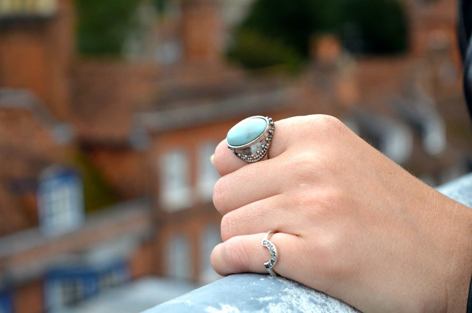 ASOS rings, how to style a leather jacket