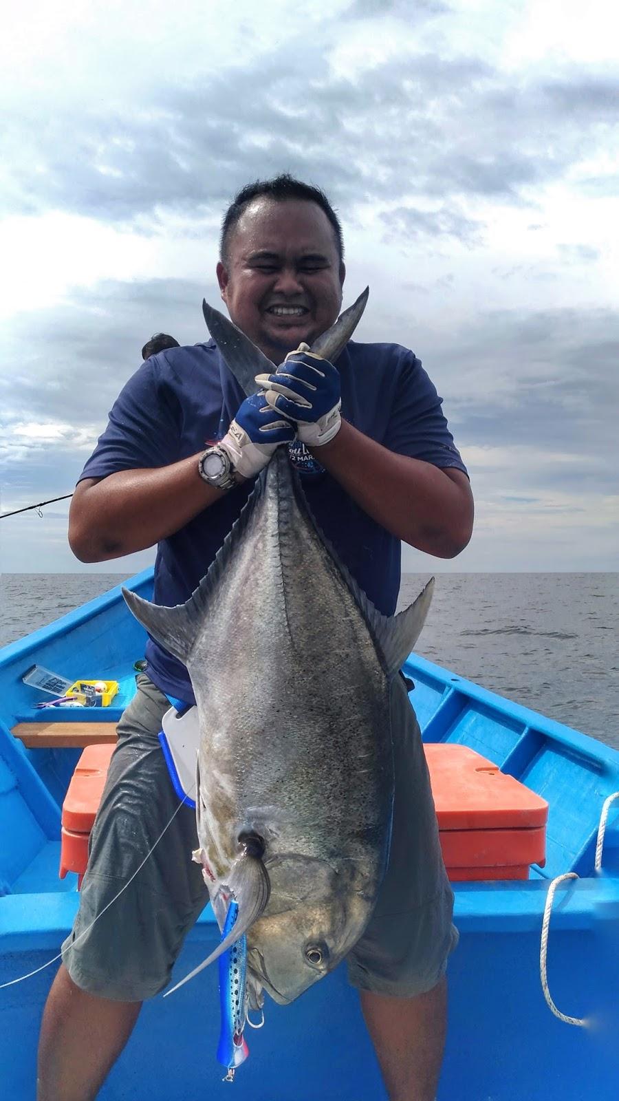 Fishing Xpdc Grey Giant Trevally Hitam M Cikgu Mu Idola Ku Ashraf