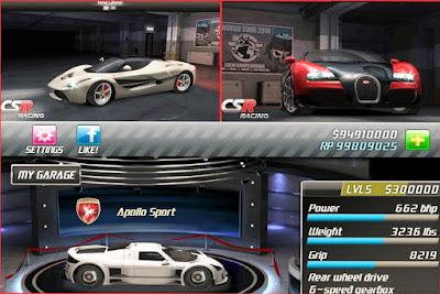العاب سيارات تحميل لعبة CSR Classics للأندرويد والايفون
