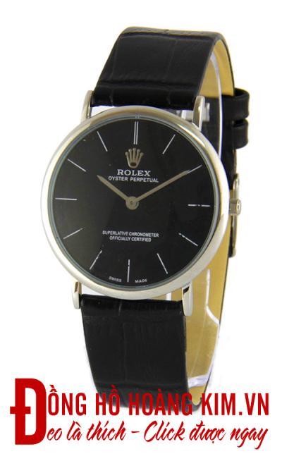 đồng hồ nam rolex dây da giảm giá sang trọng