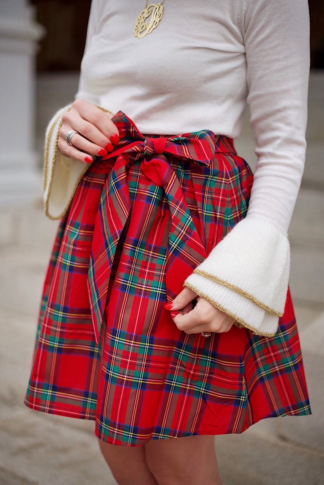Vineyard Vines Jolly Plaid Party Skirt - Something Delightful Blog