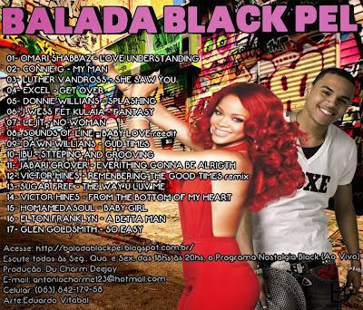 Cd Balada Black Pel Du Charme Deejay 2013 Balada Black
