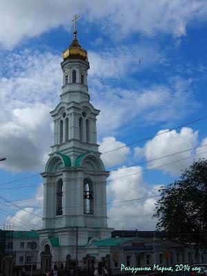 Ростов-на-Дону кафедральный Собор колокольня