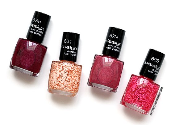 Misslyn Forbidden Fruits Collection Smoothie Sorbet Nail Polish Review