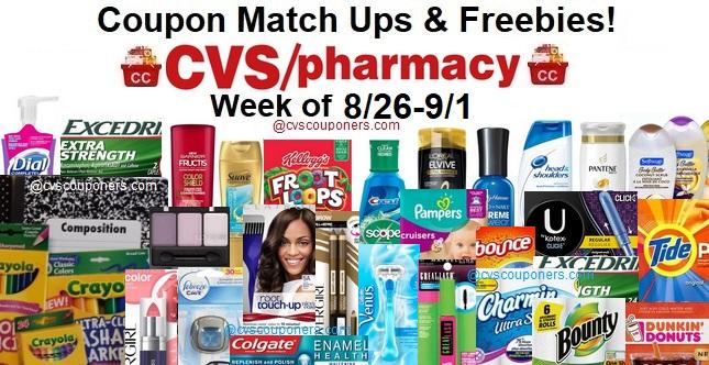 CVS Best Coupon Deals This Week – Sep 16 – 22