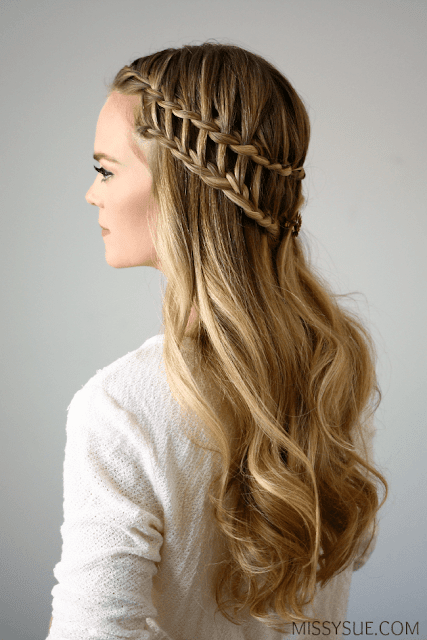New 2016 Ladder Braid Hairstyle