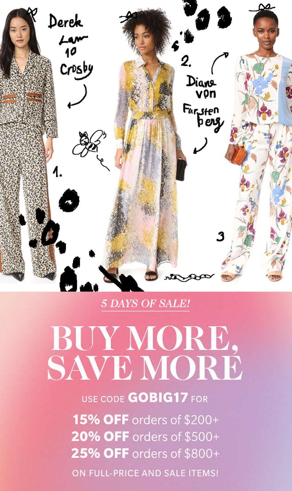 GO SHOPBOP BIG SALE!!! 2/28-3/4
