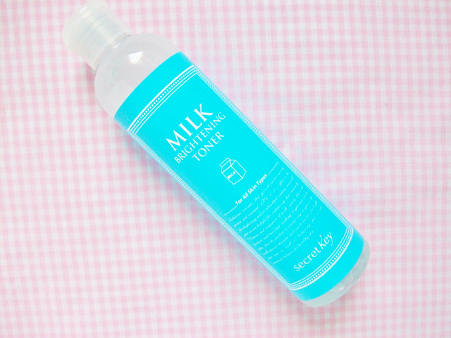 Secret Key Milk Brightening Toner