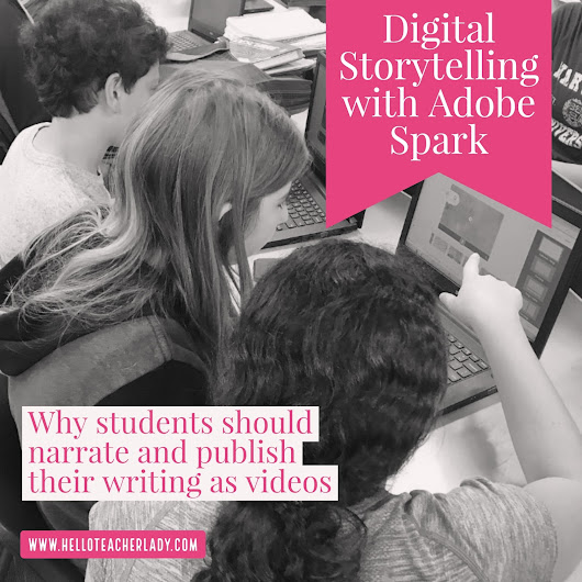 Digital Storytelling with Adobe Spark: Why Students Should Publish Their Writing As Videos
