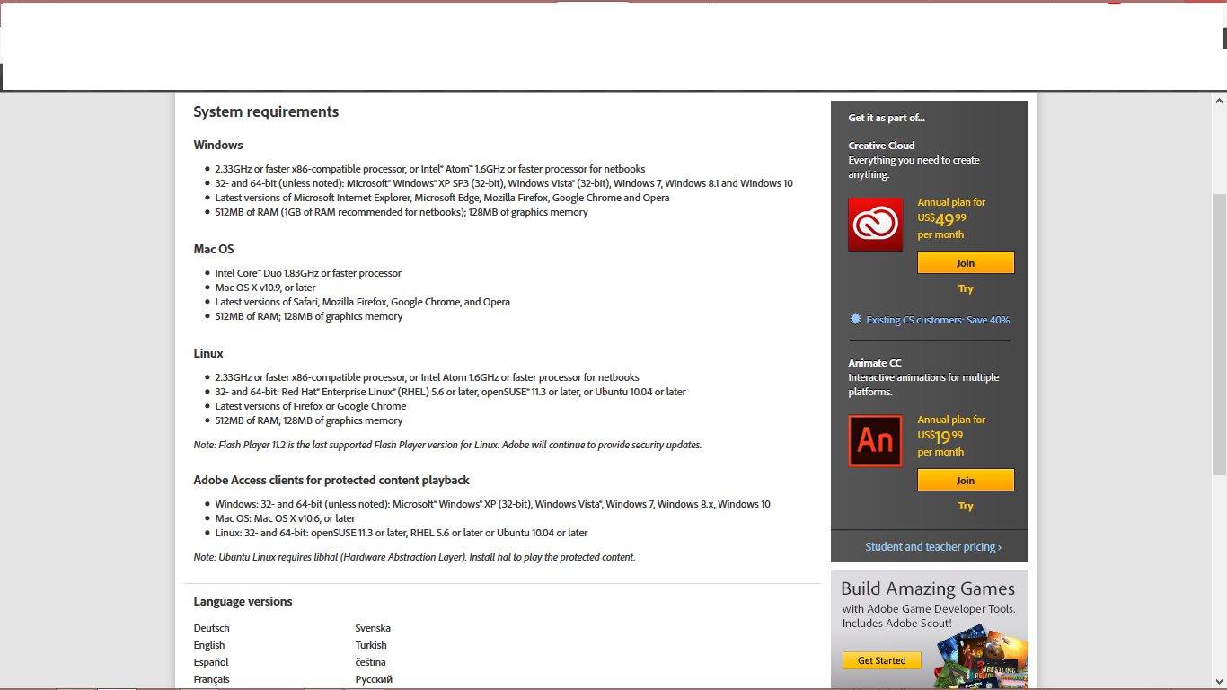 adobe flash player free download for windows 8 64 bit offline