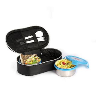 Cello Max Fresh Click Steel Lunch Box Set