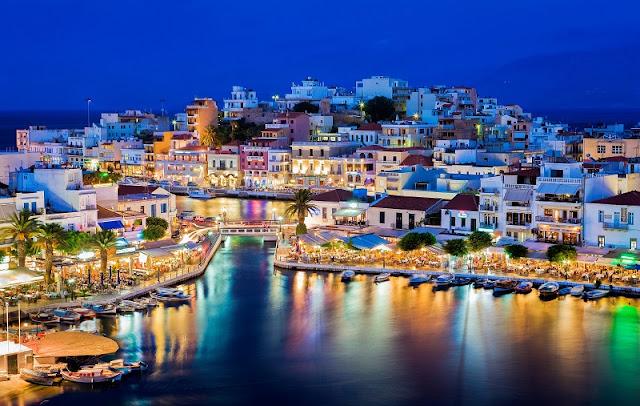 As principais cidades da Grécia