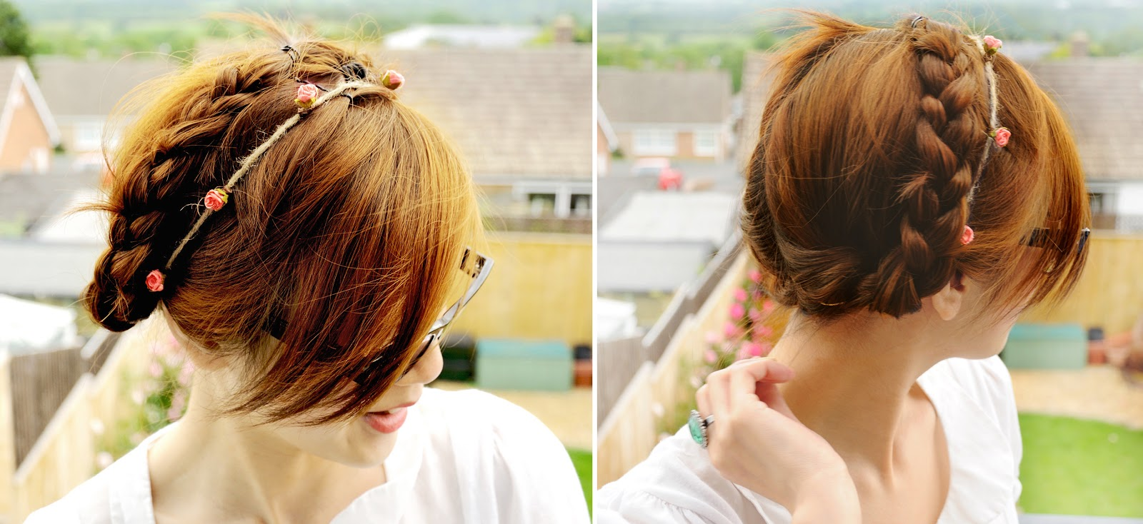 milkmaid braid hairstyle