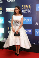 Actress Pooja Salvi Stills in White Dress at SIIMA Short Film Awards 2017 .COM 0004.JPG