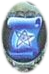 An icon representing a blue parchment scroll with a five-pointed star drawn on it.