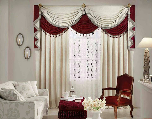 contemporary awesome curtain designs 2016 curtain ideas styles, stylish window with white curtains
