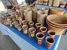 Pesta Bakanjar in Kuala Penyu (Part 2); strolling around the handicraft stalls