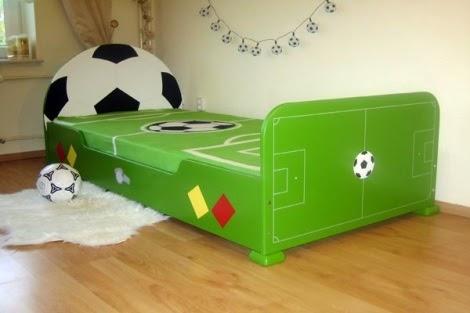 Cuartos tema fútbol   colores en casa