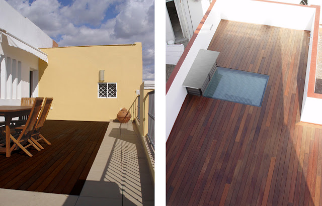 Tarimas de madera de exterior espacios en madera for Tarima de madera exterior
