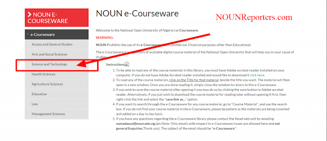 National Open University of Nigeria Portal Home Download Course material 5