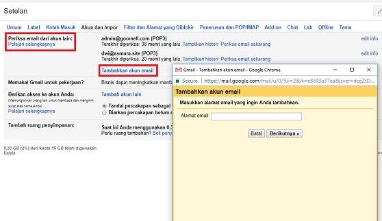 Cara Akses Mengirim Dan Menerima Email Yandex Di Gmail