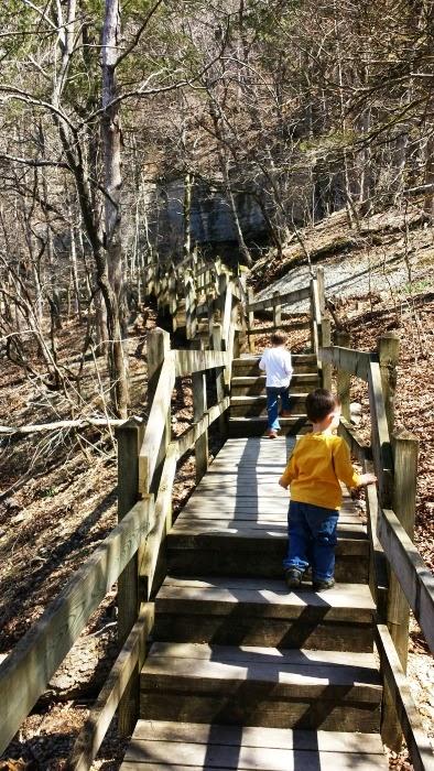 Deer Leap Trail at Roaring River State Park
