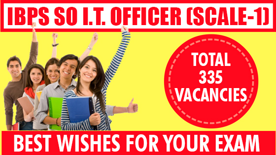 IBPS : SPECIALIST OFFICER - IT