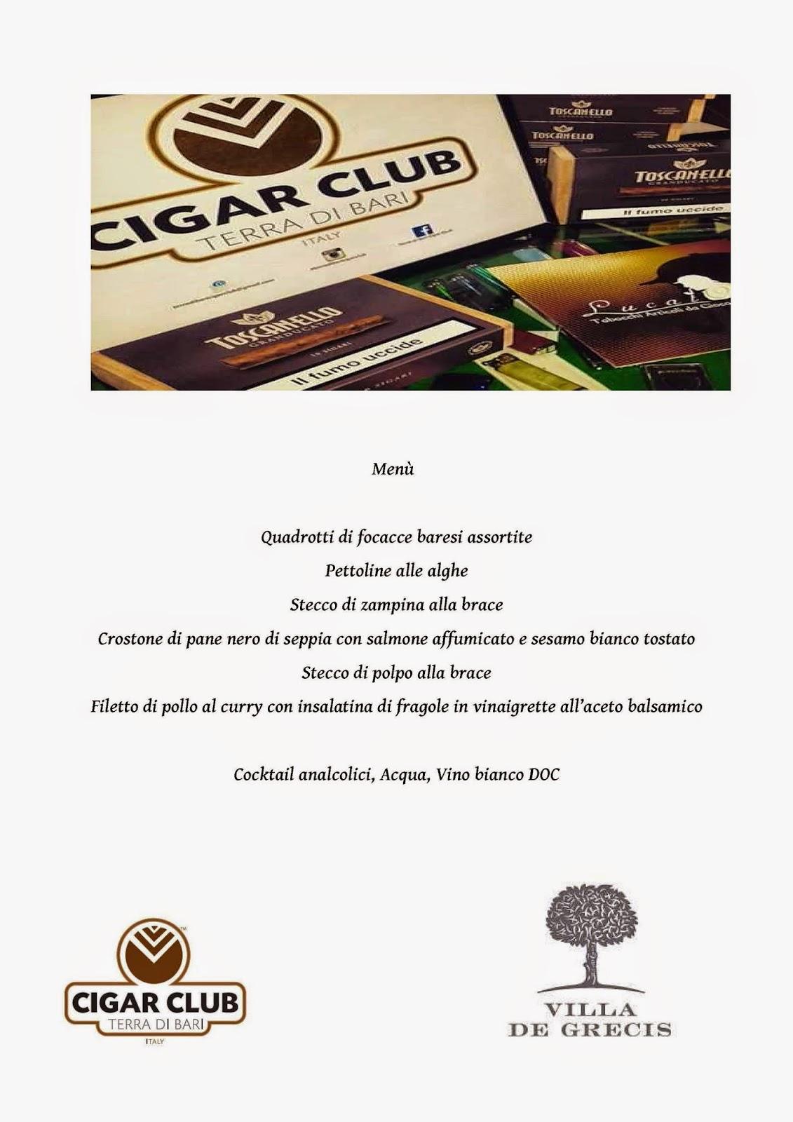 evento toscanello granducato menu