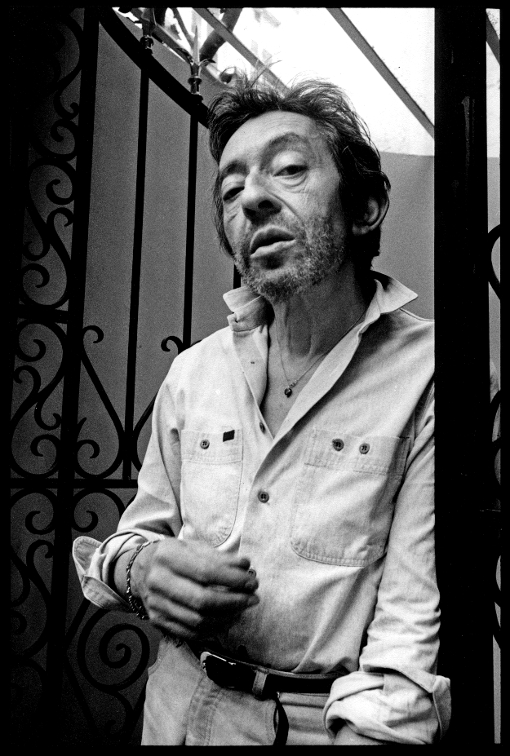Serge Gainsbourg, Paris, VIP, star, celebrité, celebrity, Franck Chevalier