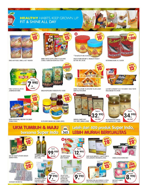Katalog Brosur Super Indo JaBoDeTaBek dan Palembang edisi 23 November hingga 29 November 2017