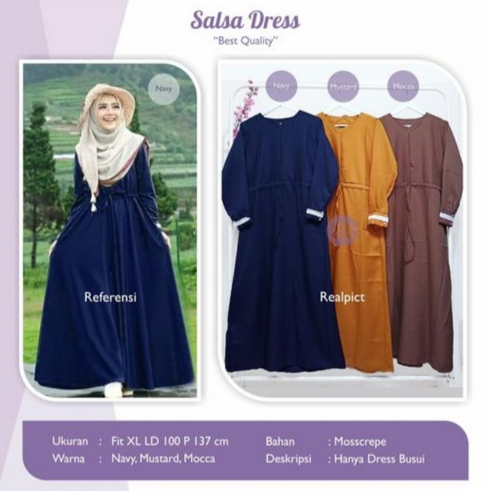 jual salsa dress