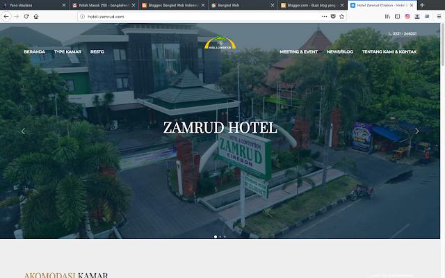 Digital Marketing Hotel Zamrud