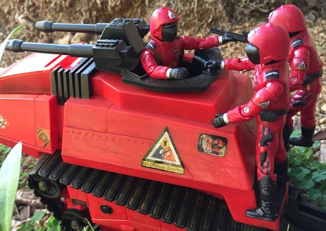 2004 Crimson Guard, 2005 Crimson Guard, Hiss Tank, Operation Crimson Sabotage, KB Toys Exclusive, Toys R Us Exclusive, ASP