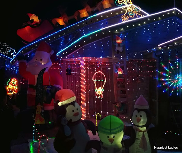 Hugo Court Christmas Lights Victoria Australia2017