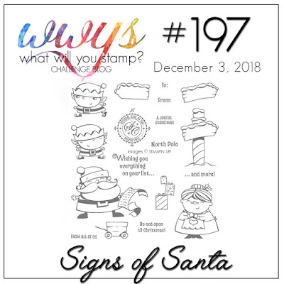 Jo's Stamping Spot - What Will You Stamp #197