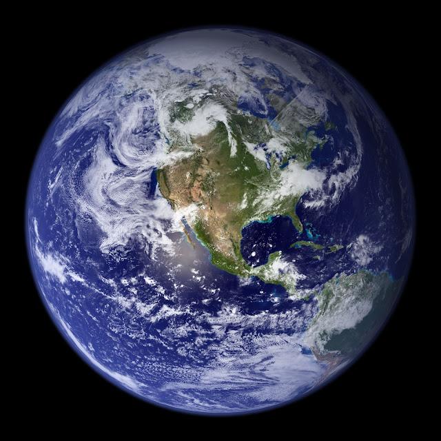 Blue Marble: Western Hemisphere
