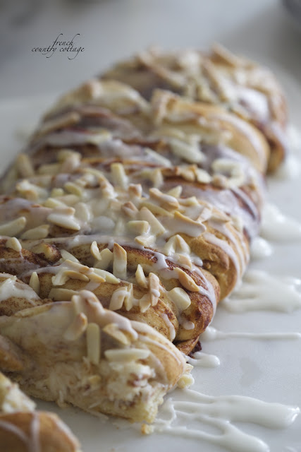 French Country Cottage Cinnamon braid