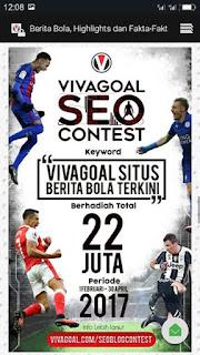 Kontes Seo Vivagoal Situs Berita Bola Online Terkini dan Terpopuler di Indonesia
