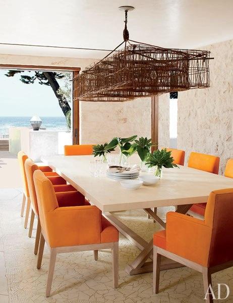 decoração- laranja