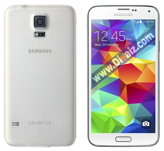 Samsung Galaxy S5 Putih - www.divaizz.com