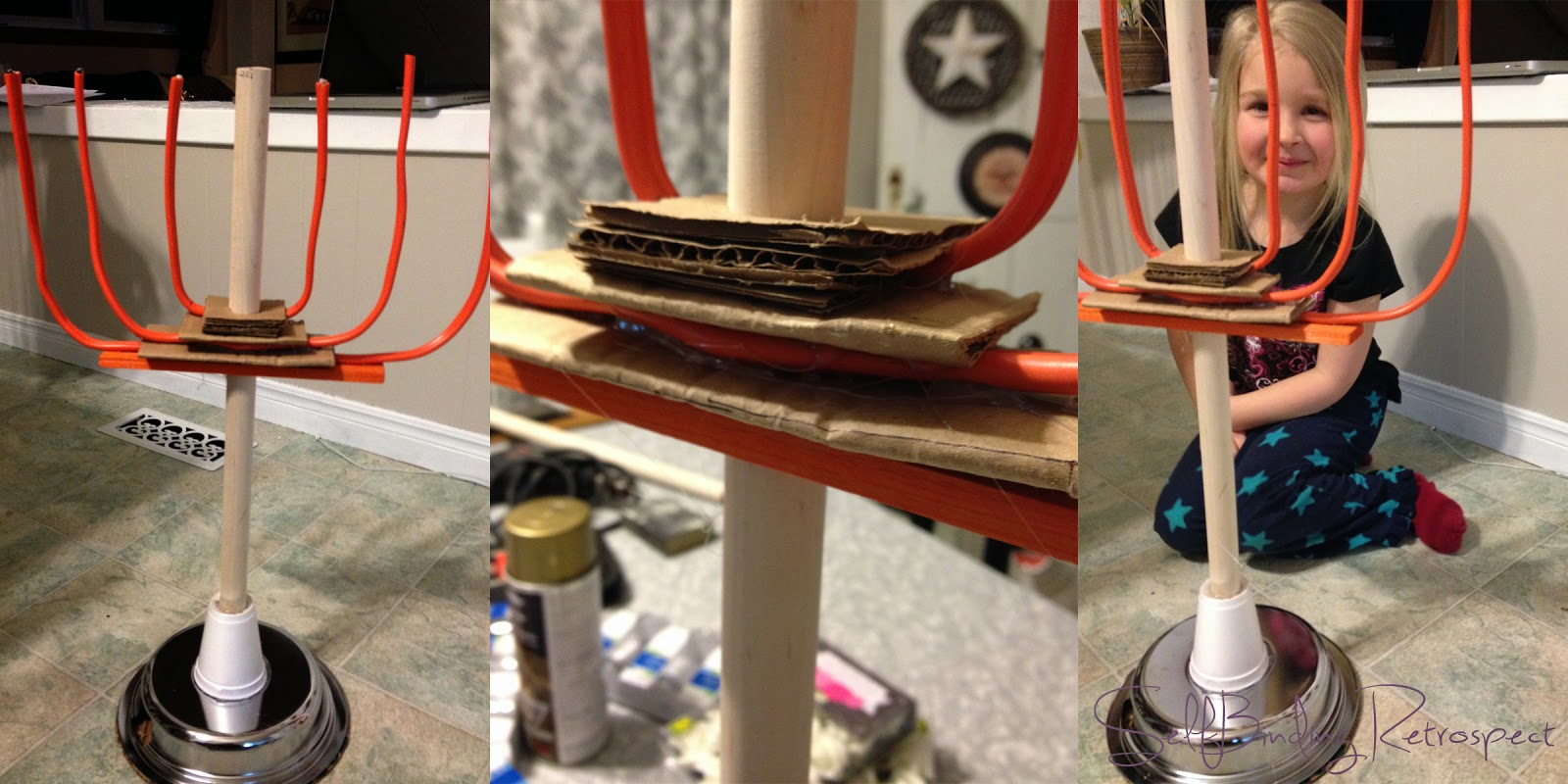 Make your own Tabernacle Lampstand, Menorah, DIY