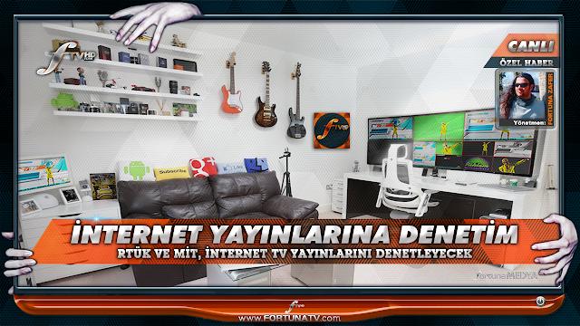 RTÜK: İNTERNET TV KANALI LİSANSI