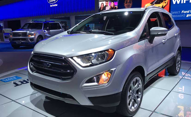 New 2017 Ford EcoSport Headlight with drl light