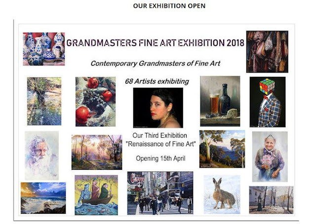 Grandmasters of Fine Art exhibition