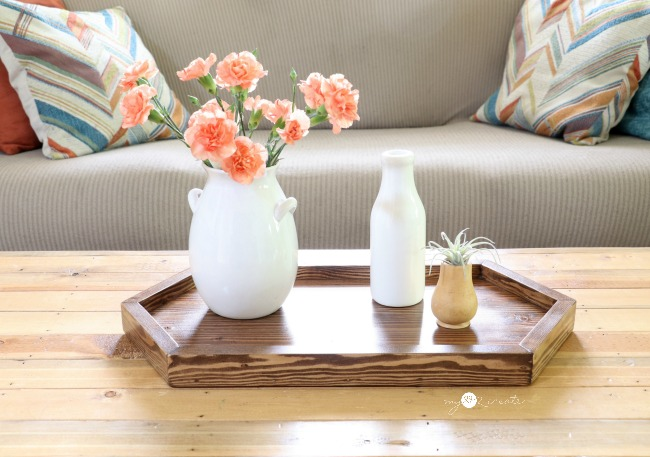 Long Hexagon Tray Plans, MyLove2Create