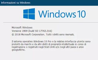 ultima versione windows 10